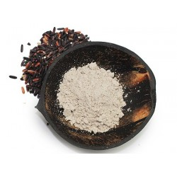 Black rice ansigstmaske 4x5g